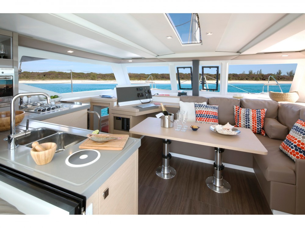 Rental Catamaran in Kaštel Gomilica - Fountaine Pajot Lucia 40 owner version