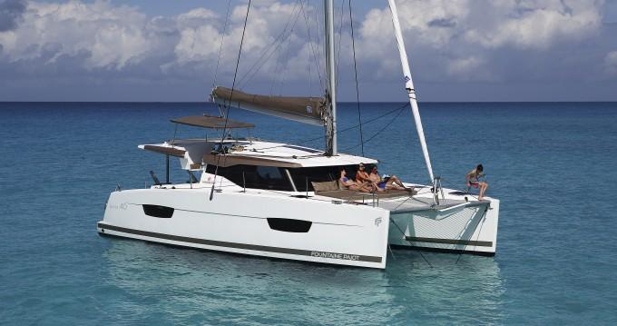 Rental yacht Veruda - Fountaine Pajot Lucia 40 on SamBoat