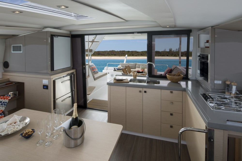 Rental yacht Kaštel Gomilica - Fountaine Pajot Lucia 40 owner version on SamBoat