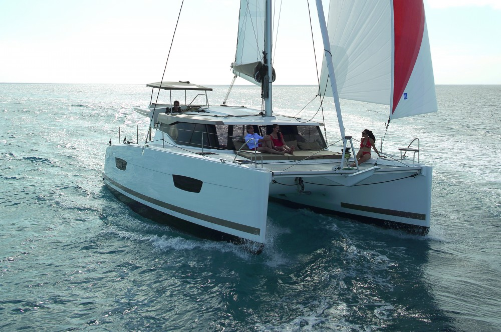 Fountaine Pajot Lucia 40 owner version between personal and professional Kaštel Gomilica
