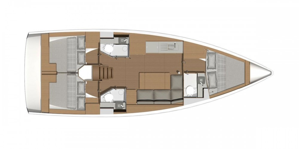 Rental Sailboat 2020 with a permit