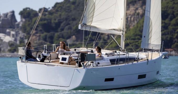Boat rental Lefkas Egremni cheap Dufour 390