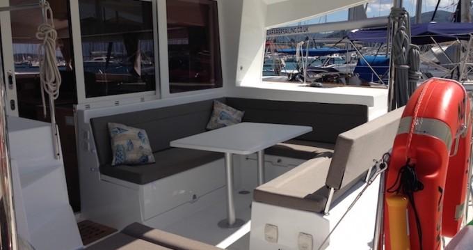 Catamaran for rent Lefkas Egremni at the best price