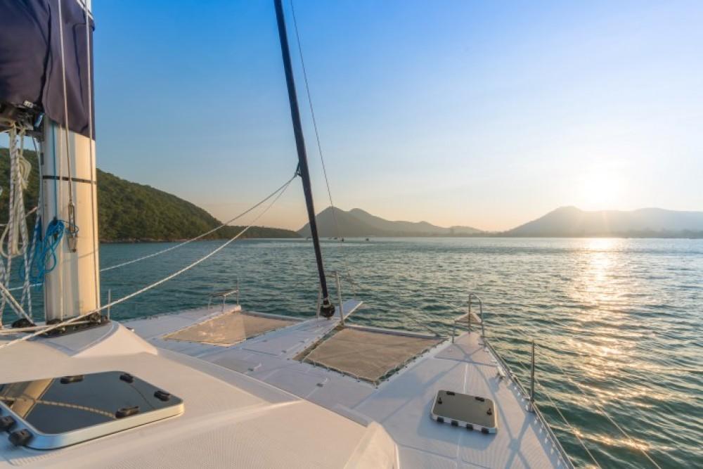 Boat rental Ko Samui cheap Island Spirit 38