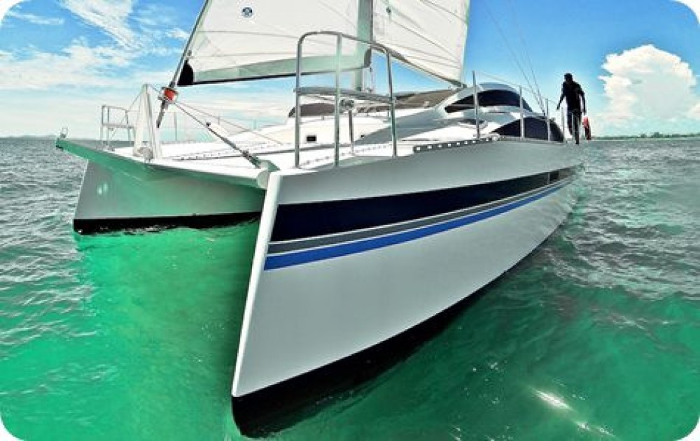 Hire Catamaran with or without skipper Island Spirit Catamarans Ko Samui