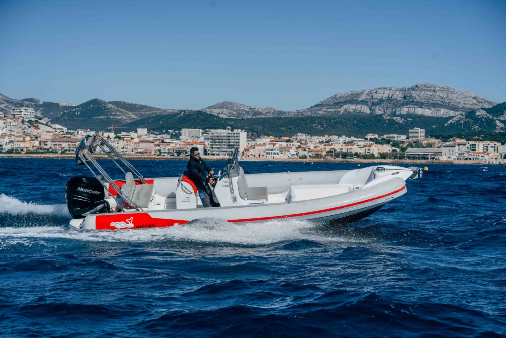 Rental RIB in Marseille - MV Marine 770