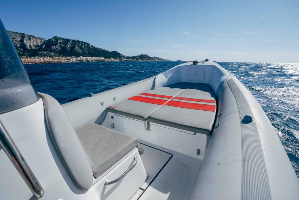 Rental RIB MV Marine with a permit