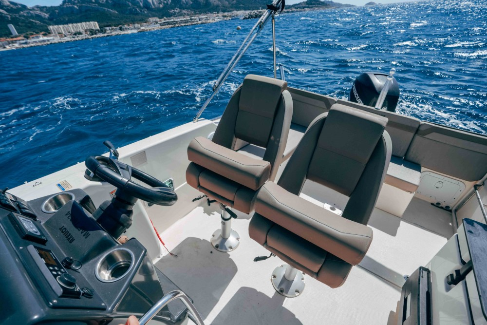 Rental yacht Marseille - Quicksilver Activ 755 Sundeck on SamBoat