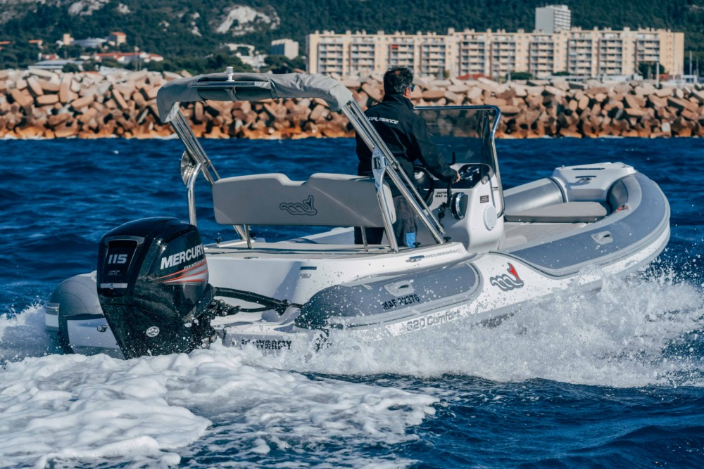 Rental RIB in Marseille - MV Marine 620