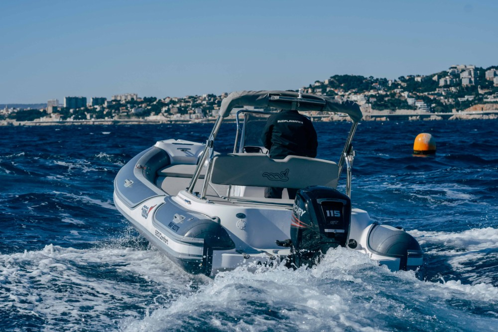 MV Marine 620 between personal and professional Marseille