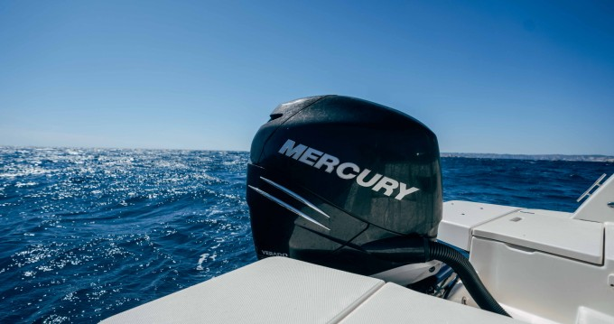 Hire Motorboat with or without skipper Quicksilver Pointe-Rouge