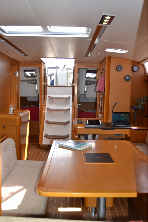 Jeanneau Sun Odyssey 509 between personal and professional Sant Antoni de Portmany