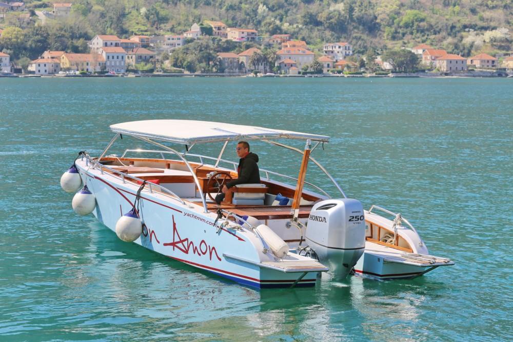 Boat rental Kotor cheap Don Amon