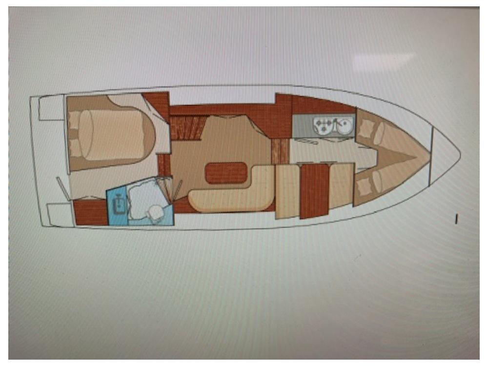 Rental Motorboat in Ammerzoden - pedro yachts skiron 35