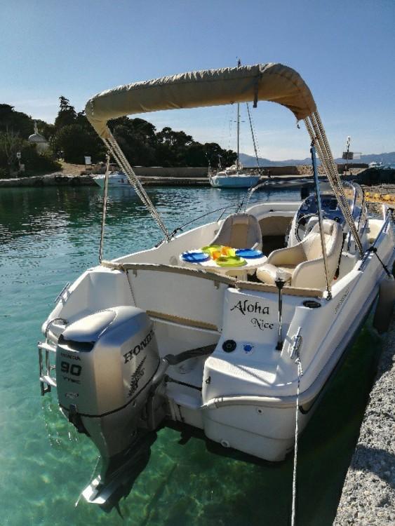 Boat rental Bénéteau Flyer 550 Sun Deck in Mandelieu-la-Napoule on Samboat