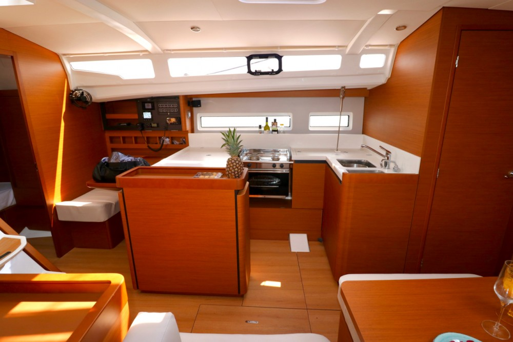 Jeanneau Sun Odyssey 440 between personal and professional Croatia
