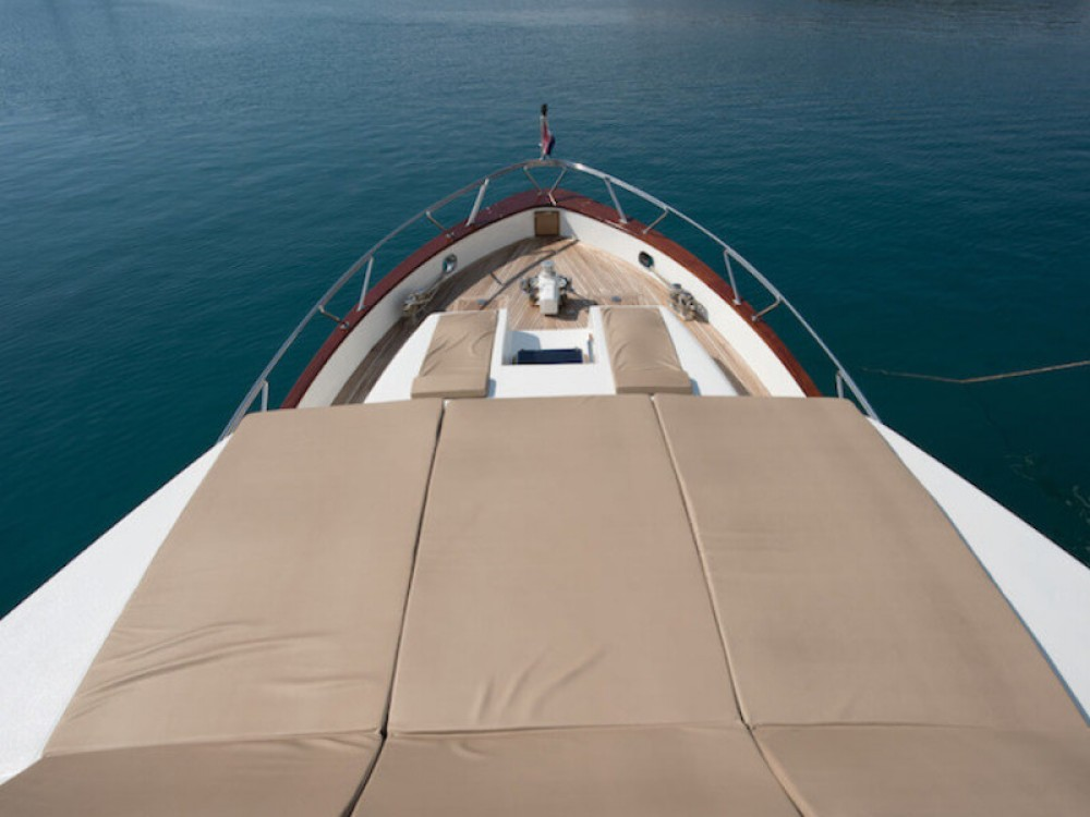 M/Y Blanka between personal and professional ACI Marina Split