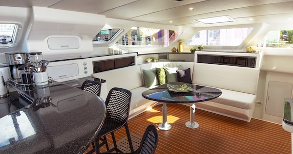 Voyage yachts Voyage 520 between personal and professional St. George's