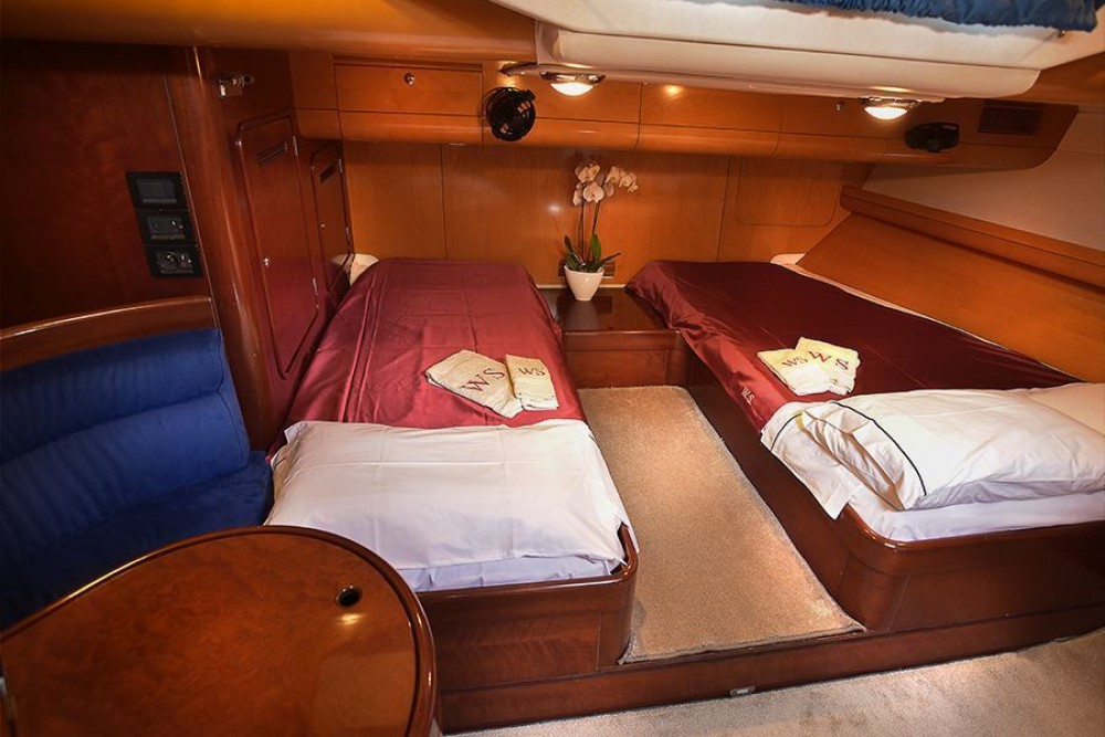Hire Sailboat with or without skipper CNB