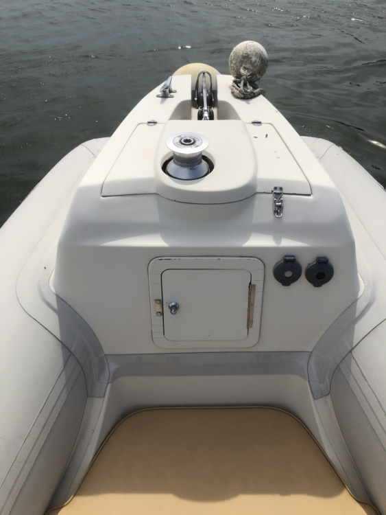 Hire RIB with or without skipper Sacs
