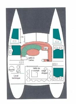 Rental Catamaran in Sanary-sur-Mer - Fountaine Pajot Tobago 35