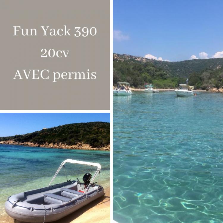 Boat rental Fun Yak Fun Yak 390 in Belvédère-Campomoro on Samboat