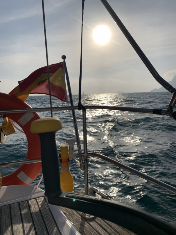 Bénéteau Oceanis 393 Clipper between personal and professional Altea