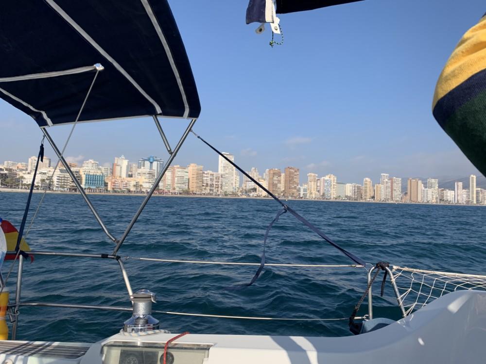 Boat rental Altea cheap Oceanis 393 Clipper