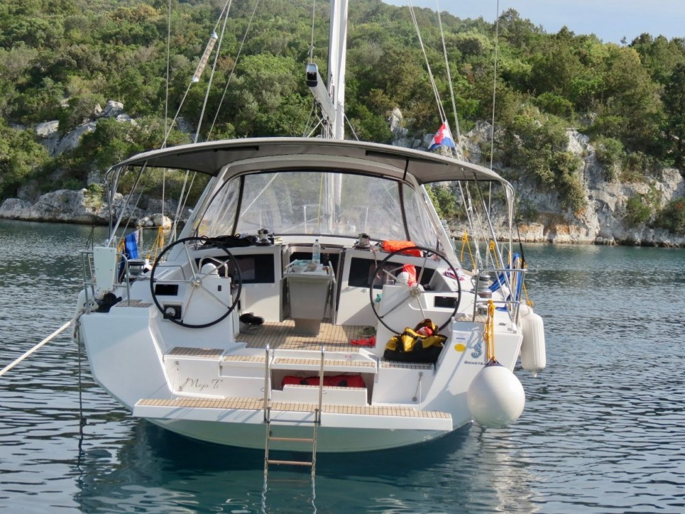 Rental Sailboat in Croatia - Bénéteau Oceanis 48 - 5 cab.