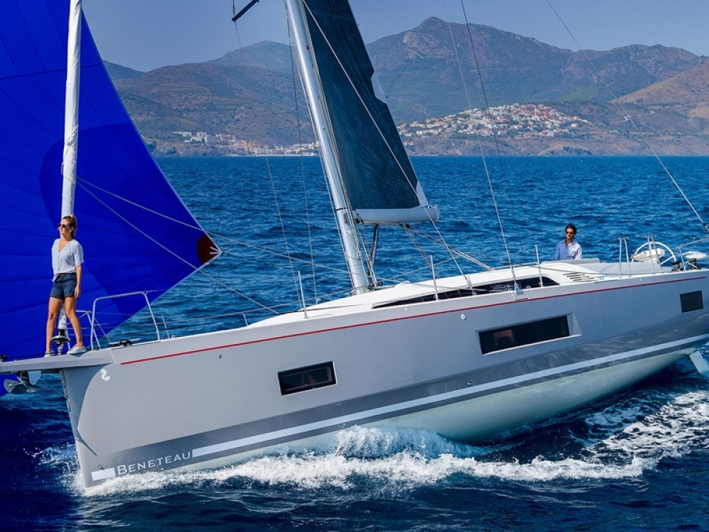 Bénéteau Oceanis 46.1 between personal and professional Lefkada