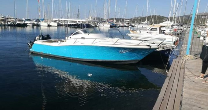 Motorboat for rent Arzachena at the best price