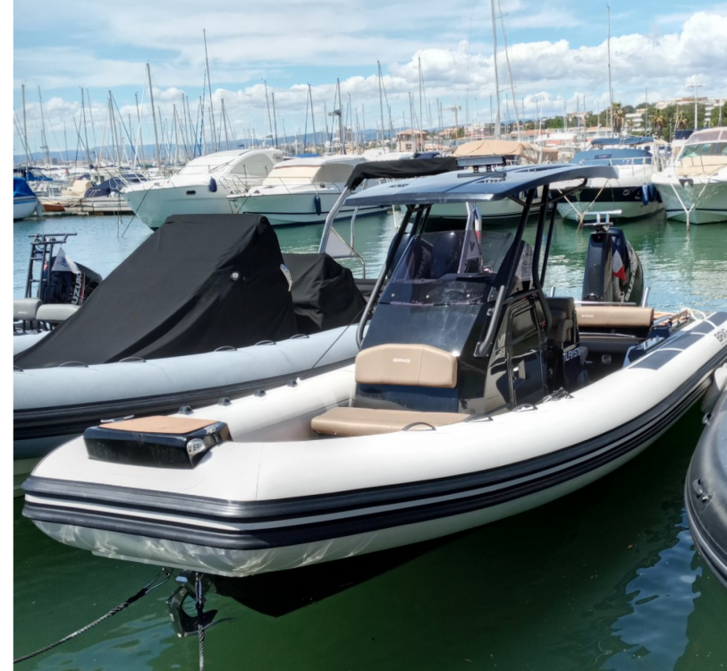 Hire RIB with or without skipper Brig Saint-Raphaël