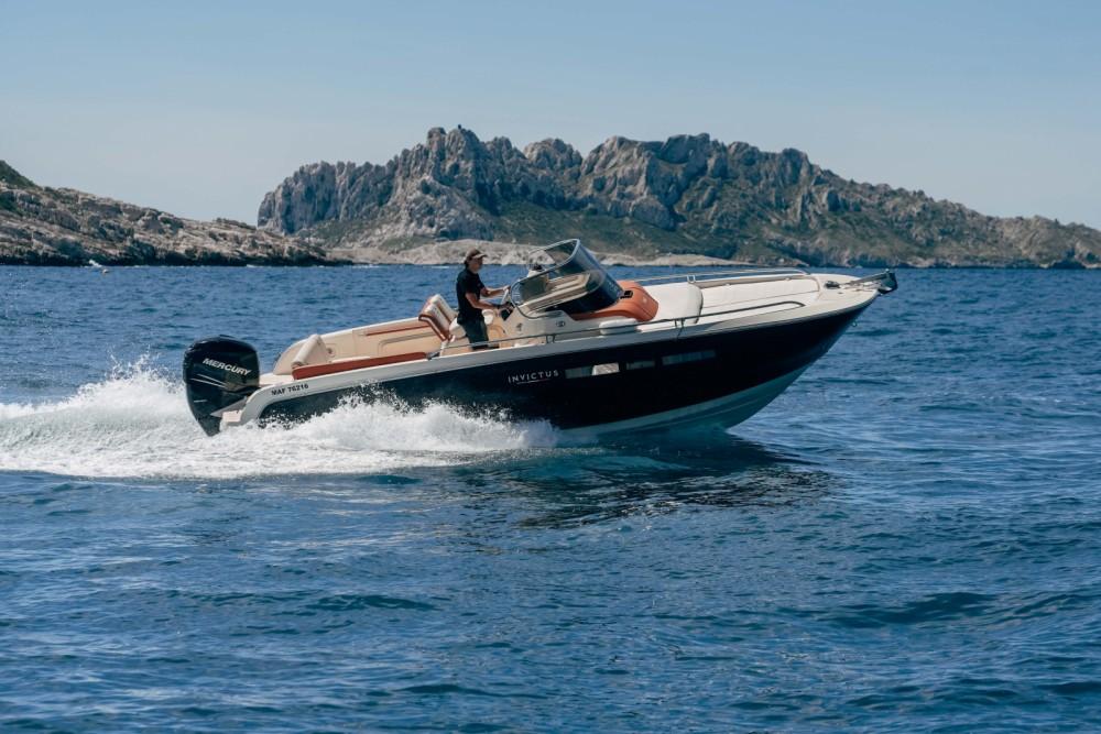Rental yacht Marseille - Invictus Invictus 240 CX on SamBoat