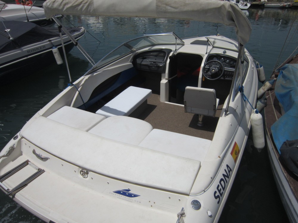 Hire Motorboat with or without skipper Starcraft Málaga