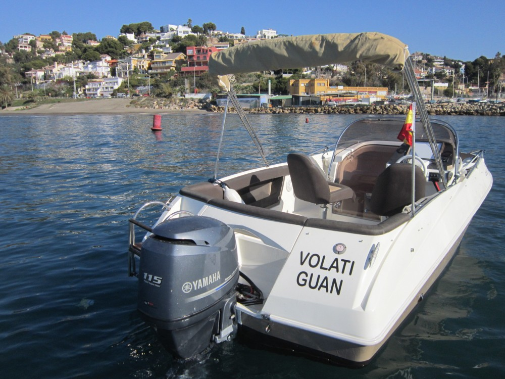 Rental Motorboat in Málaga - Galeon Galia 570