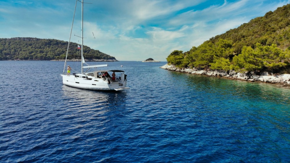 Hire Sailboat with or without skipper Dufour Croacia