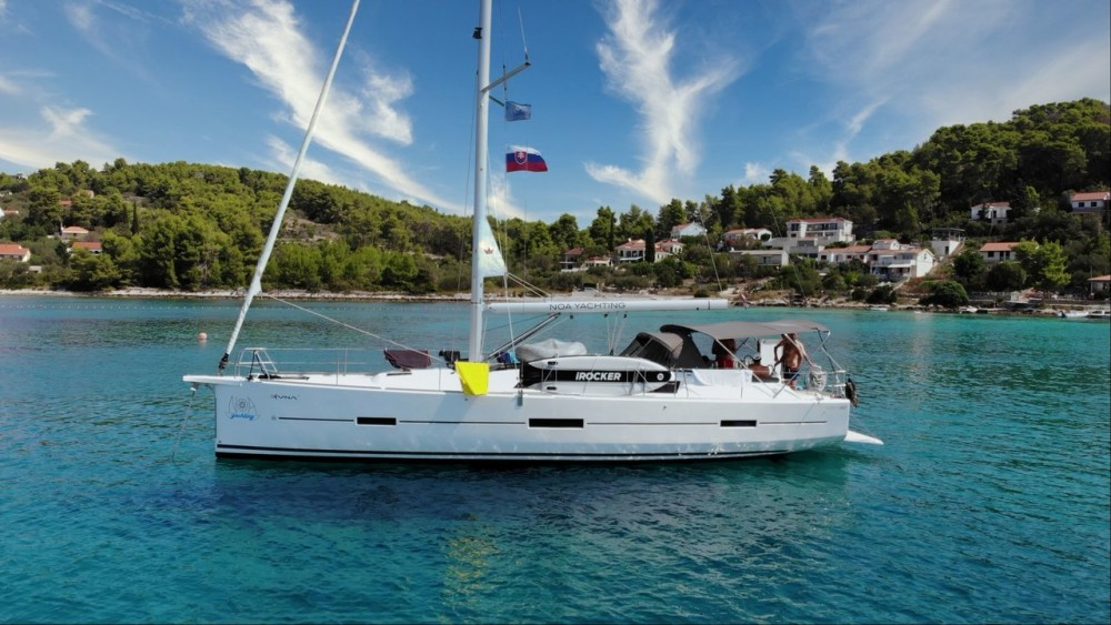 Boat rental Dufour Dufour 460 GL in Croacia on Samboat