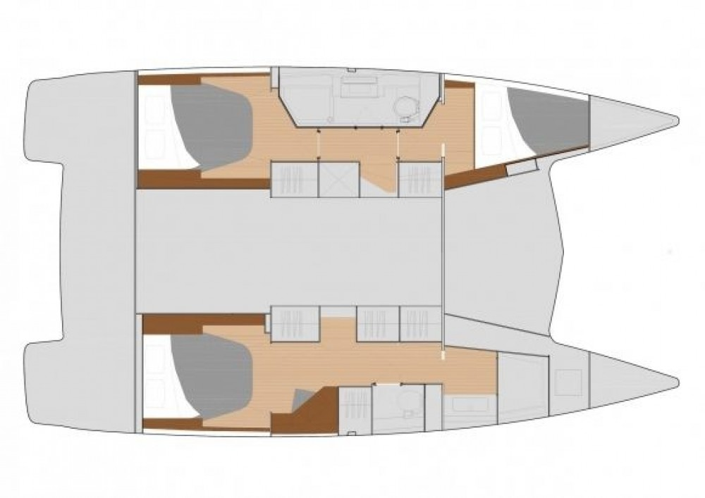 Boat rental Fountaine Pajot Lucia 40 in US Virgin Islands on Samboat