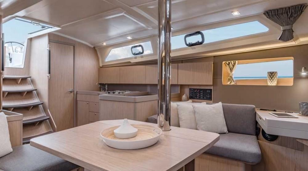 Boat rental Spain cheap Oceanis 411