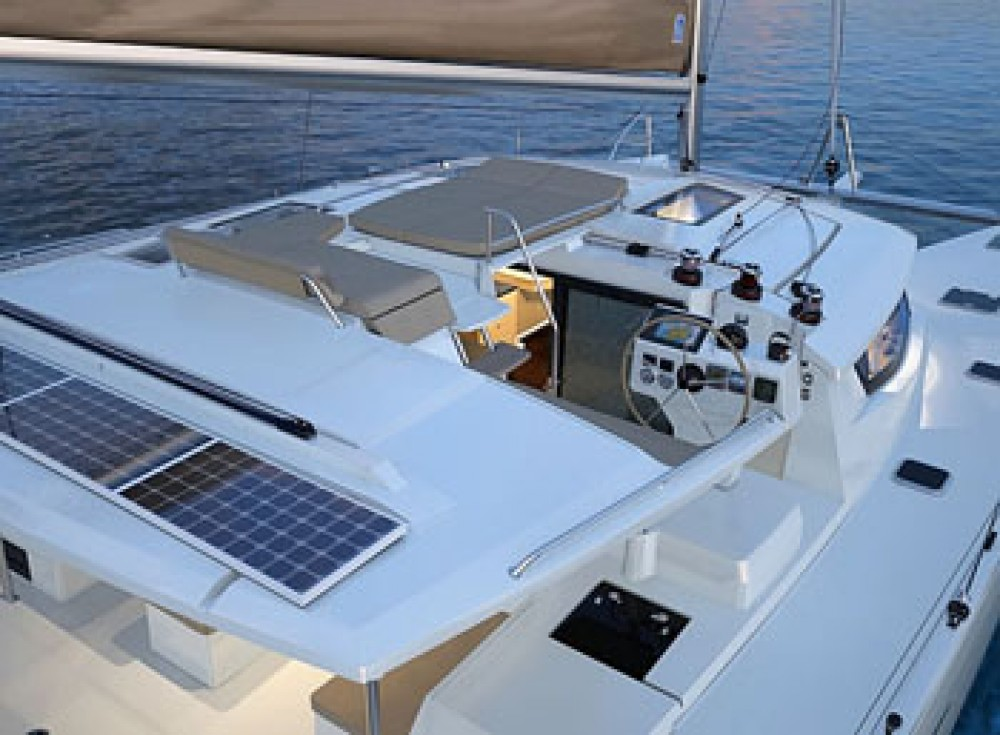 Fountaine Pajot Helia 44 between personal and professional Fort Lauderdale