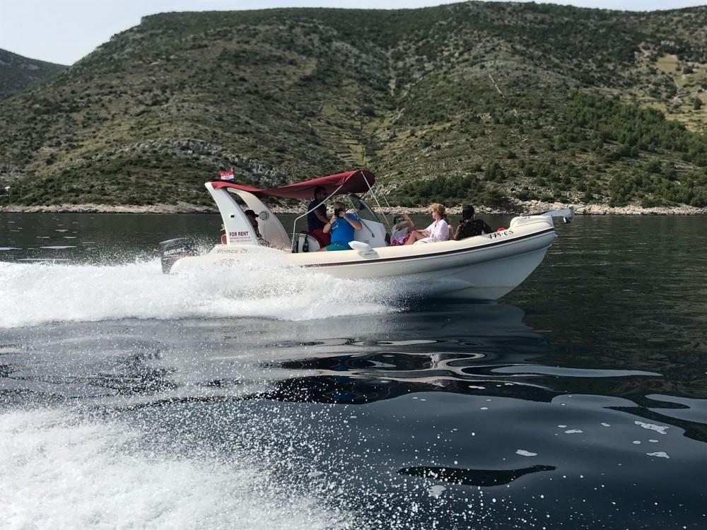 Boat rental Duće cheap Prince 21