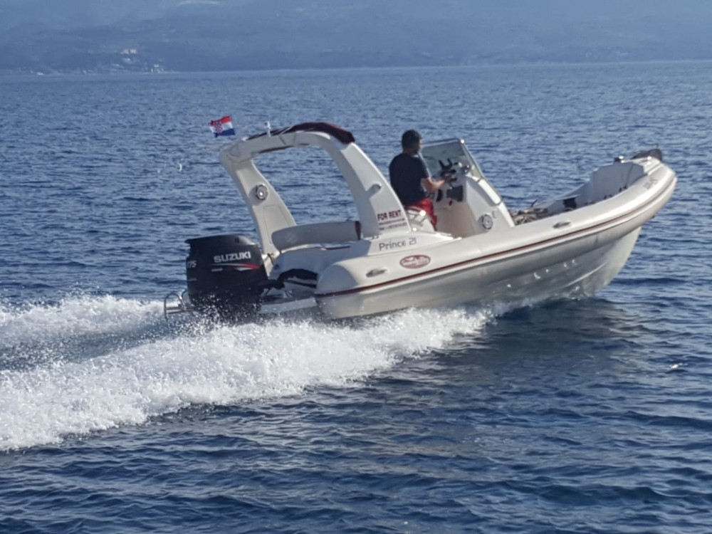 Hire RIB with or without skipper Nuova Jolly Duće