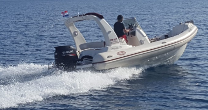 RIB for rent Duće at the best price