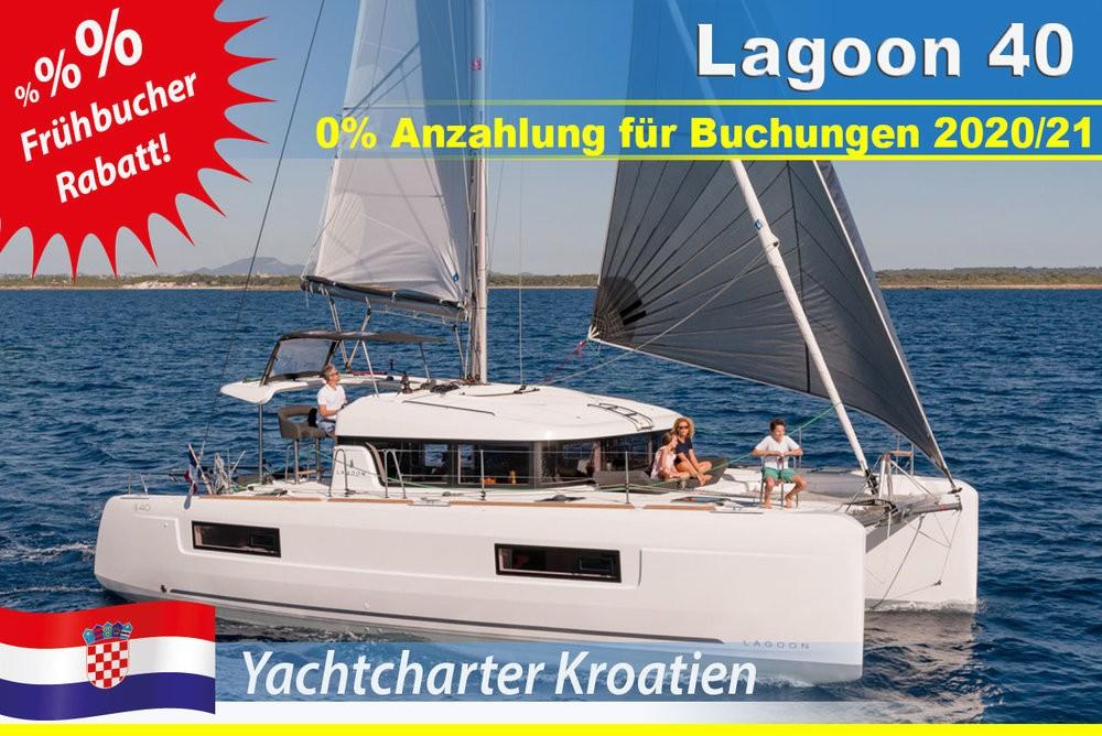 Rental yacht Grad Zadar - Lagoon Lagoon 40 (4 cab) on SamBoat