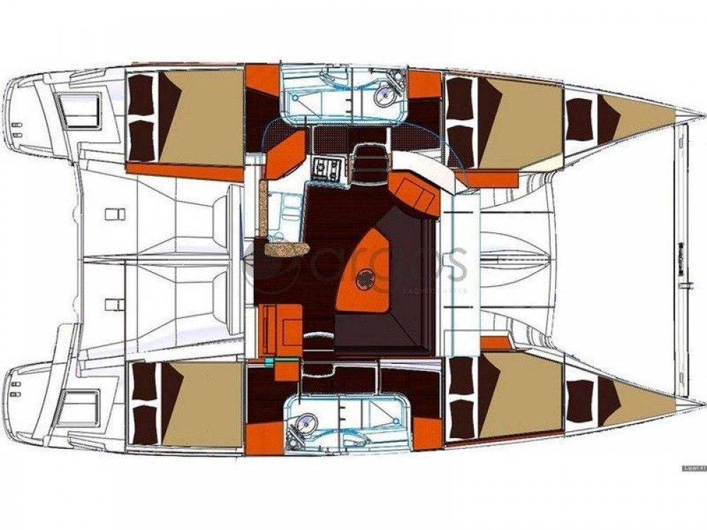 Fountaine Pajot Fountaine Pajot Lipari 41 between personal and professional Marmaris