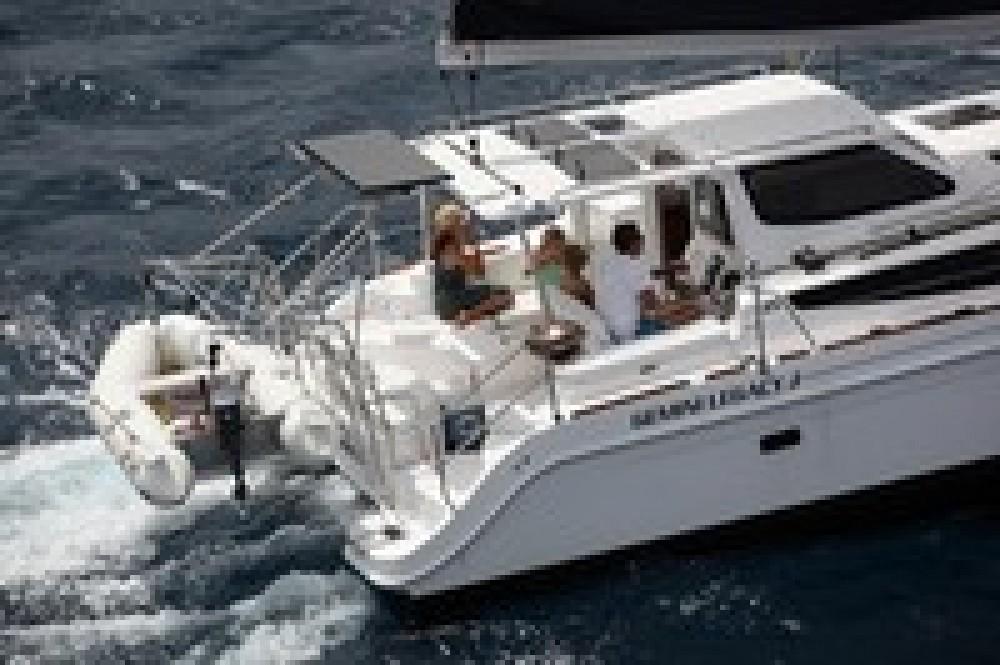 Rental Catamaran Gemini with a permit