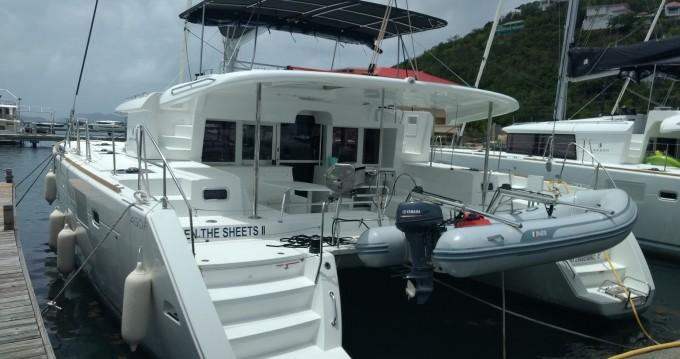 Rent a Lagoon Lagoon 450 F Tortola