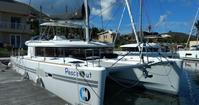 Boat rental Tortola cheap Lagoon 450 F