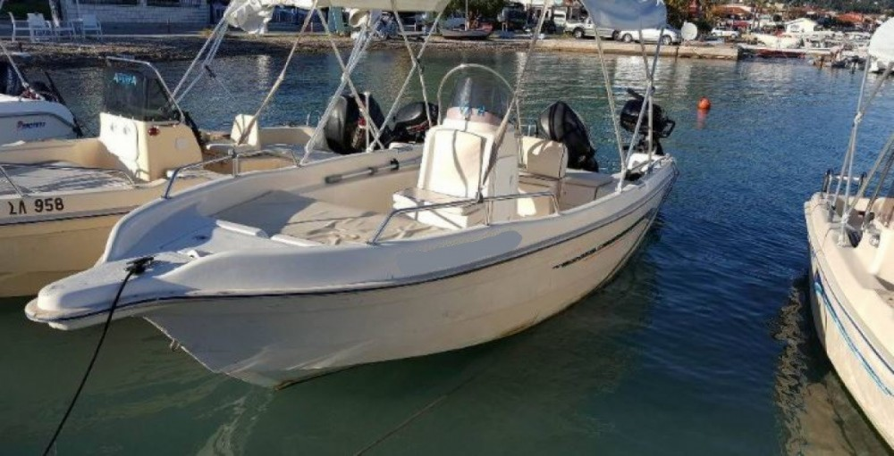 Hire Motorboat with or without skipper Elie boat