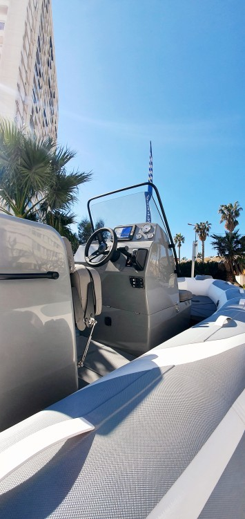 Hire RIB with or without skipper Adventure Toulon